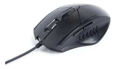 Mouse Optico Usb 2.0 1889 Pisc Preto Com Fio