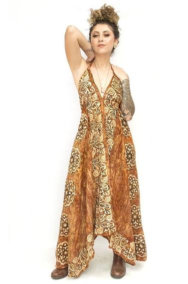 Vestidos Longos Indiano Batik Ajustavel Frete Grátis