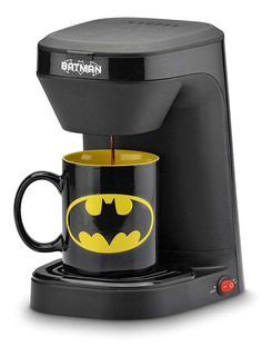 Cafetera Dc Batman Taza Incluida Individual Coffe Marker