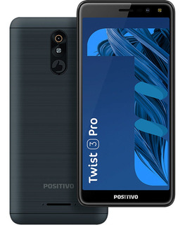 Smartphone Positivo Twist 3 Pro S533 64gb Tela 5.7 3g Grafit