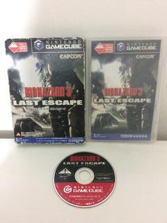 Juego Game Cube Biohazard Resident Evil 3 Last Escape