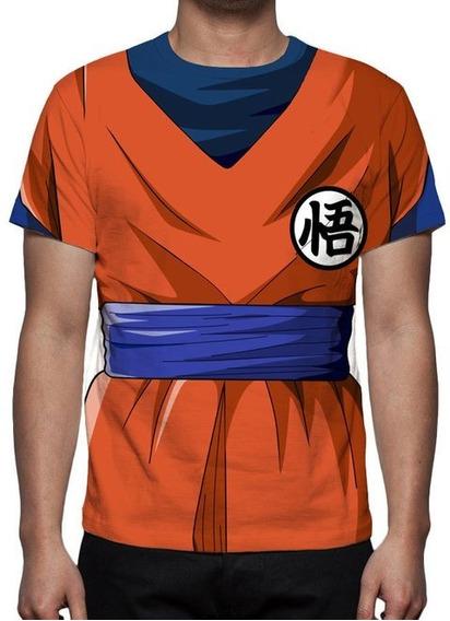Camiseta Dragon Ball Super Traje Goku - Promoção