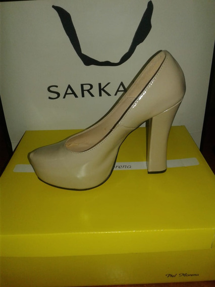 Zapatos Piel Morena