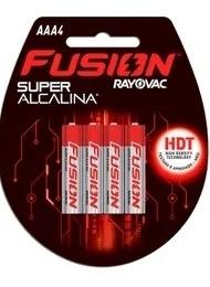 Kit 24 Pilhas Aaa Fusion Super Alcalina Rayovac + Brinde