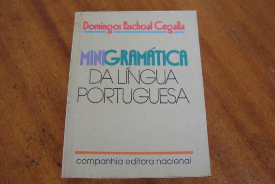 Livro Mini Gramatica Da Lingua Portuguesa / D P Cegalla