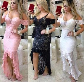 af72dd1d1 Maravilhoso Vestido Mullet Marca Guria - Vestidos Femininas Rosa ...