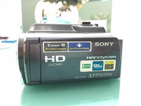Filmadora Handycam Sony Hdr-xr150 3.1 Mega Pixels 120gb
