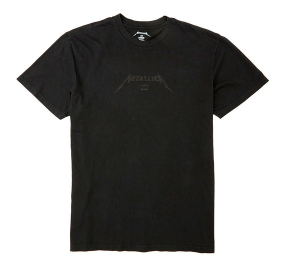 Remera M/c Billabong Metallica Black Album Tee M404wbau