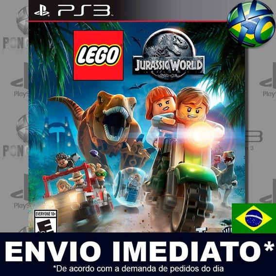Lego Jurassic World Ps3 Psn Dublado Português Pt Br Promoção