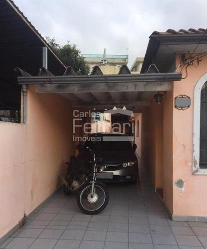 Imagem 1 de 9 de Casa Térrea, Venda, Vila Mariza Mazzei, 03 Dormitórios, 01 Suíte, 01 Vaga - Cf34231
