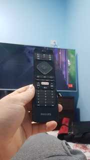 Tv Smart Philip 49 Para Respuesto Pantalla Rota