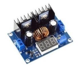 Regulador De Tensão Dc 200w 8 Amperes C/ Voltímetro