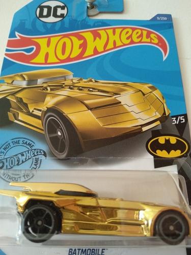 Carro Colección Hot Wheels Batmobile Serie Batman Mattel