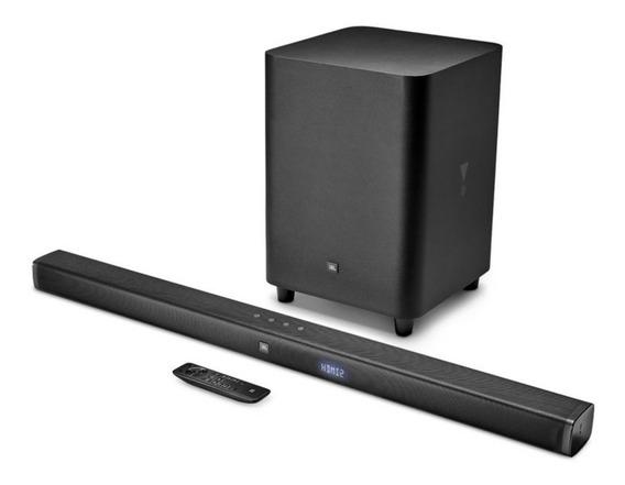 Soundbar Jbl 3.1 Preto - Hdmi Para Conexão 4k Bluetooth 178w