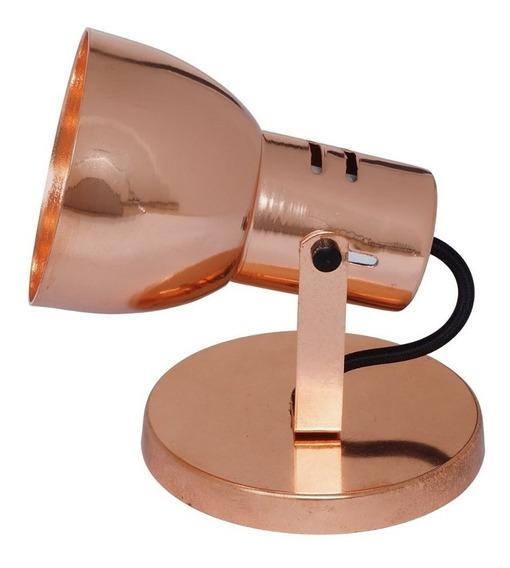 Spot Flex Alumínio Articulável Isadora Design Cobre Fgwt