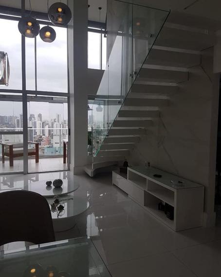 Apartamento Duplex A Venda No Itaigara 2 Quartos Suítes 113m2 No Neo Itaigara! - Sfl069 - 33801179