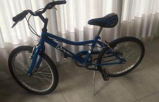 Bicicleta Rodado 20 Impecable Color Azul Niños Chicos