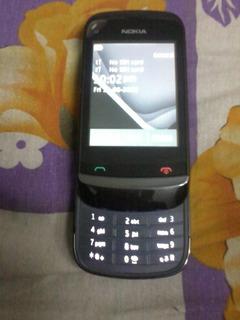 Nokia C2 02 Con Facebook Celular Basico Tactil Sony Samsung