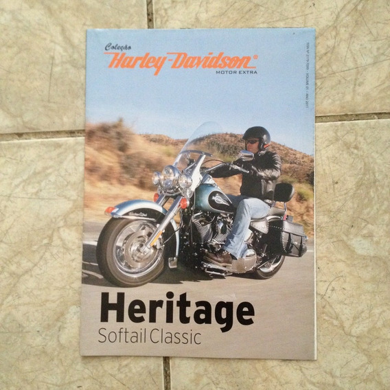 Coleção Harley-davidson Motor Extra Heritage Softail Classic