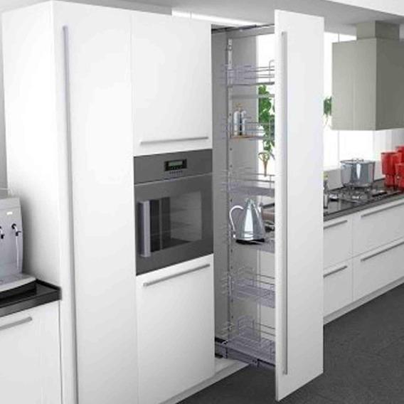 Columna Con Cierre Suave Hafele P/ Modulo 300 O 400mm Cocina