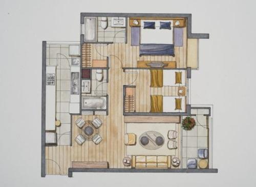 Imagen 1 de 5 de Ñuñoa - Departamento 2 Dormitorios 2 Baños + B Y E
