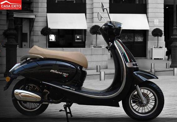 Moto Axxo Milano 150cc Año 2020 Ne/bl/ca/vi
