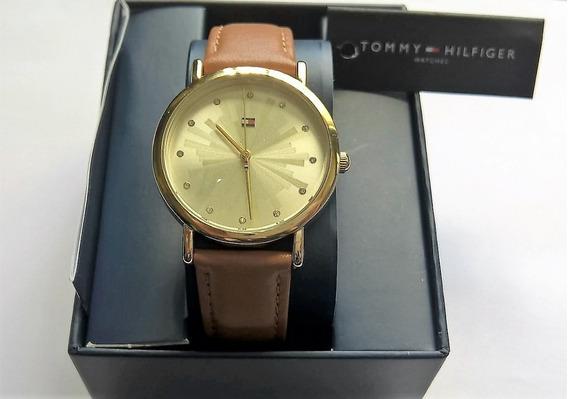 Relógio Tommy Hilfiger Feminino 1781899 Couro-original Caixa