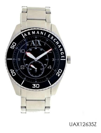 Relógio Armani Exchange Uax1263z Prata