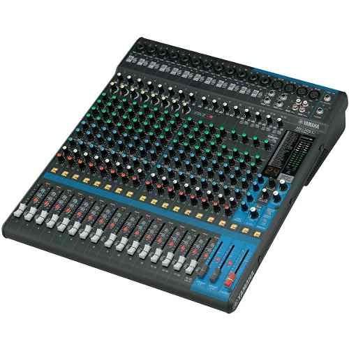 Mesa De Som 20 Canais C/ Fx/ Ph/ 4 Aux Mg 20 X U - Yamaha