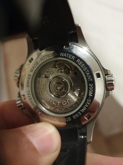 Relógio Automático Hamilton Khaki