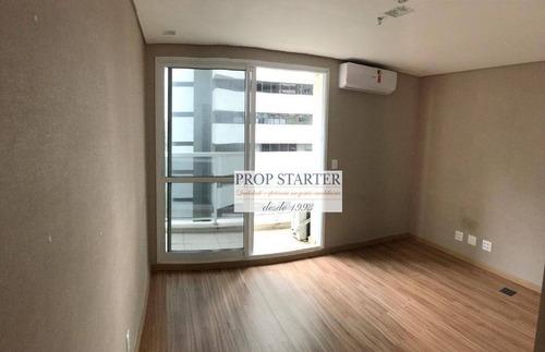 Imagem 1 de 4 de Conjunto, 27 M² - Venda Por R$ 380.000 Ou Aluguel Por R$ 1.500/mês - Paraíso - Prop Starter Imóveis - Cj0048