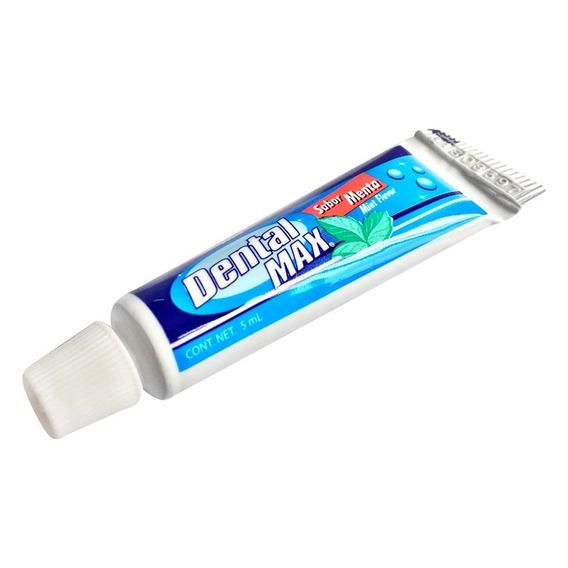 Pasta Dental Economica 5ml Dentalmax 100 Piezas Con Envio