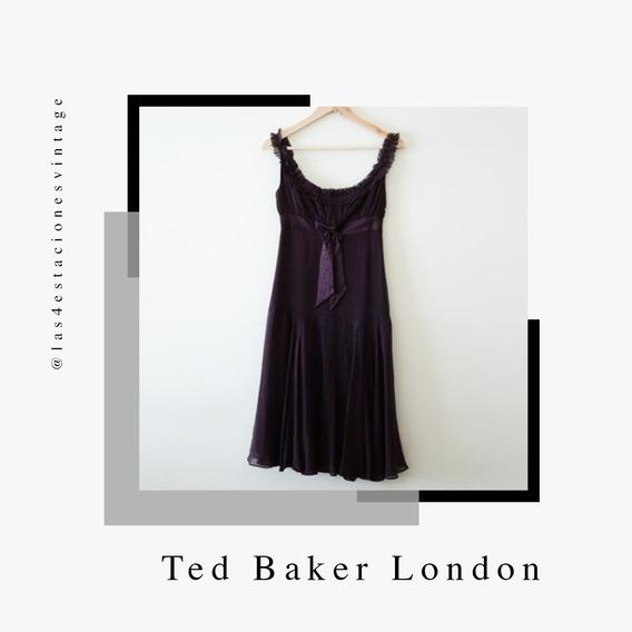Vestido De Verano Color Obispo Importado. Ted Baker London