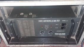 Amplificador Potência Tip 5000 Com Case 5000wrms
