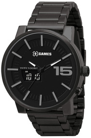 Relógio Xgames Masculino Anadigi Xmssa001 P2px Negativo