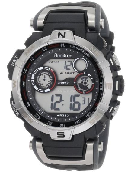 Reloj Deportivo Pulsera Hombre Armitron Resistente Agua Hm4