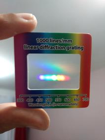 Rede De Difração 1000 Linhas/mm - Frete Grátis