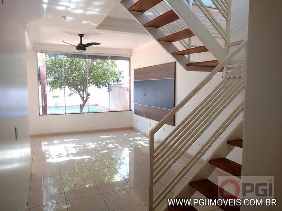 Casa Com 3 Dormitórios Para Alugar, 406 M² Por R$ 3.000,00/mês - Bonfim Paulista - Ribeirão Preto/sp - Ca1814