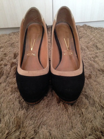 51642e432a Scarpin Vizzano Off White Feminino - Sapatos no Mercado Livre Brasil