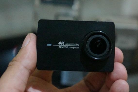 Câmera De Ação Xiaomi Yi 4k + Dome + 5 Baterias