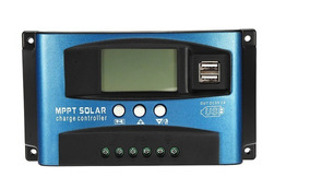 Controlador De Carga Mptt 100ausb 12 V 24 V Auto 2600w Solar