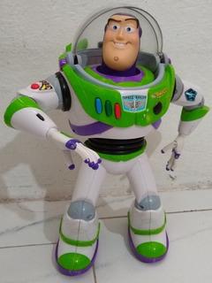 Buzz Lightyear Usado Original Sonido Movimiento Leer Descrip