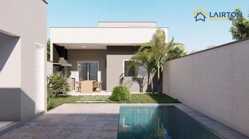Imagem 1 de 4 de Casa Com 2 Dormitórios À Venda, 80 M² Por R$ 450.000,00 - Nova Cerejeiras - Atibaia/sp - Ca2442