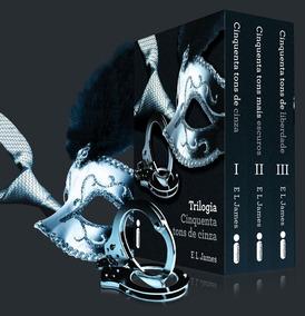 Box Livros Trilogia Cinquenta Tons De Cinza Digital
