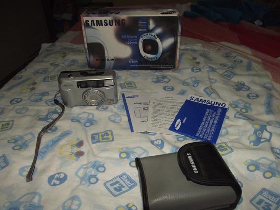 Câmera Fotográfica Samsung Ti 80 Analógica Completa
