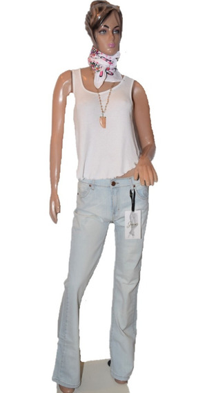 Maria Cher Pantalon Modelo Retro Prince Tiro Medio