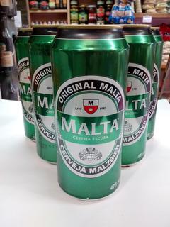 Cerveza Malta Malzbier(igual A Brhama) X 6 Unidades,473 Ml