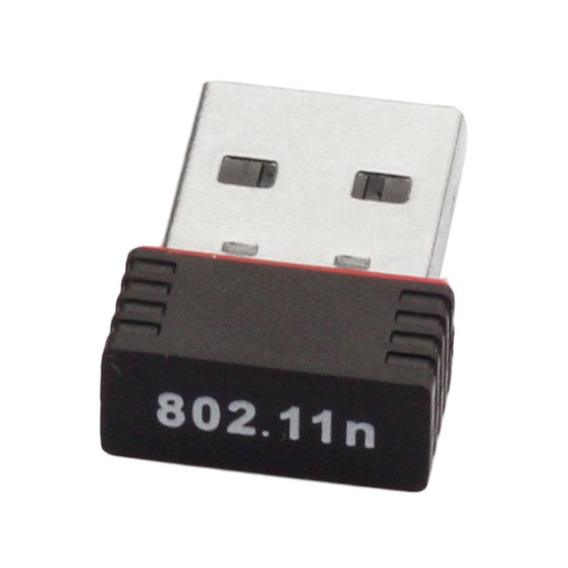 5 Mini Adaptador Wiriless Wi-fi Usb 150mbps Env.grátis Carta