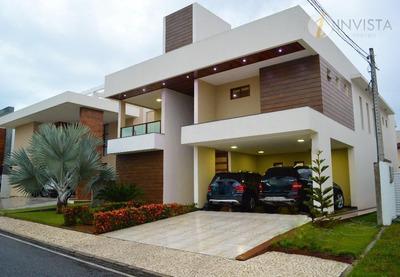 Casa Residencial À Venda, Altiplano Cabo Branco, João Pessoa - Ca1220. - Ca1220