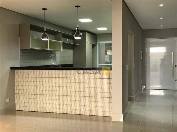 Casa Residencial À Venda, Jardim Boer Ii, Americana. - Ca0165